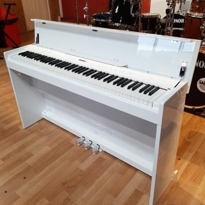 PIANO ELECTRICO ARTESIA CON TAPA-TECLAS PESADAS-BLUETOOTH-14 VOCES-POLIFONIA 64 VOCES-3 PEDALES-COLOR BLANCO