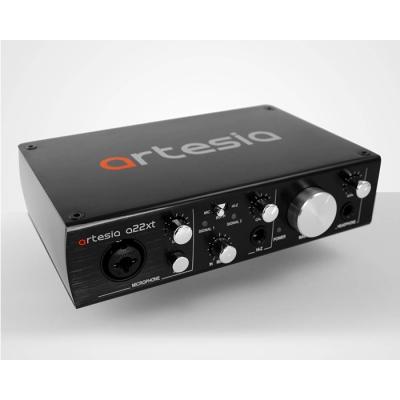 PLACA DE AUDIO ARTESIA-2 ENTRADAS 2 SALIDAS-96KHz USB 2.0 24 bits-48V PHANTOM