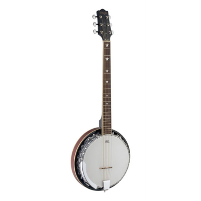 BANJO STAGG 6 CUERDAS RESONADOR METALICO
