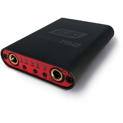 PLACA DE AUDIO ESI PARA GUITARRA Y MICROFONO - 24bit/192khz- USB