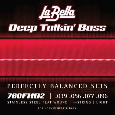 ENCORDADO LA BELLA DE BAJO DEEP TALKIN BASS FLAT 039/096