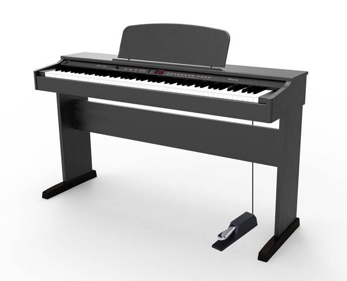 PIANO ELECTRICO RINGWAY POLIFONIA 64 NOTAS-16 VOCES-SUSTAIN-COLOR NEGRO