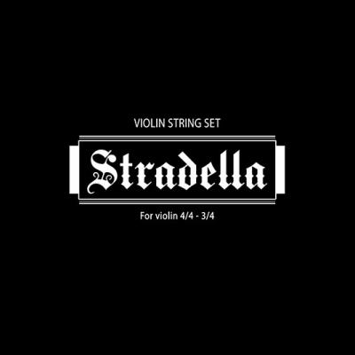 ENCORDADO STRADELLA DE VIOLIN (Incluye 1era y 2da cuerda de repuesto)