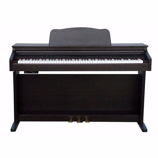 PIANO ELECTRICO RINGWAY 64 POLIFONIA-16 VOCES-3 PEDALES-COLOR ROSEWOOD