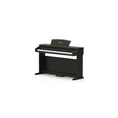 PIANO ELECTRICO RINGWAY CON TAPA-LED DISPLAY-3 PEDALES-POLIFONIA 32-16 VOCES-USB-MIDI COLOR ROSEWOOD