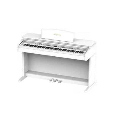 PIANO ELECTRICO RINGWAY-LCD BACKLIGHT-3 PEDALES-POLIFONIA 64-129 VOCES-USB-MIDI COLOR BLANCO