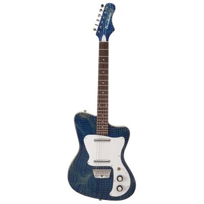 GUITARRA DANELECTRO 67 HEAVEN COLOR ALLIGATOR BLUE