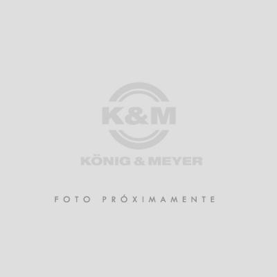 BANQUITO K&M APOYA PIE PARA GUITARRA DE METAL NEGRO 6 POSICIONES - ANTIDESLIZANTE