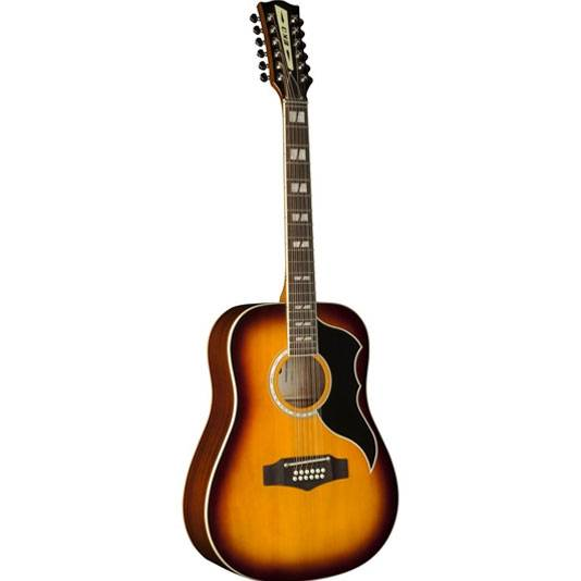 GUITARRA ACUSTICA EKO RANGER FOLK 12 CUERDAS-COLOR HONEYBURST