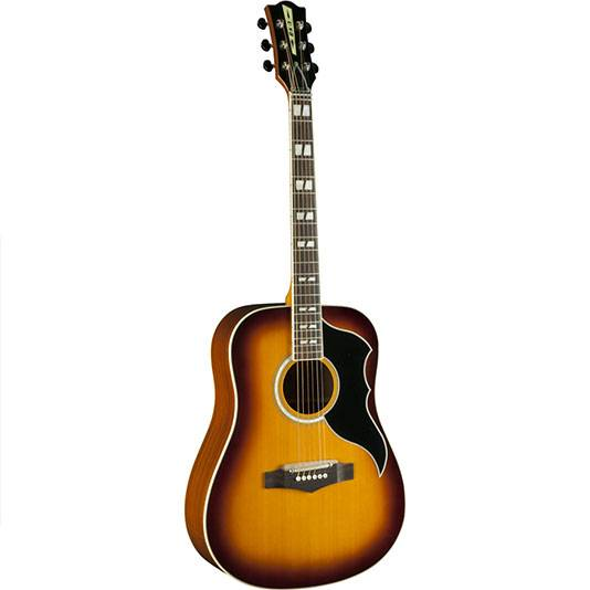 GUITARRA ACUSTICA EKO RANGER VINTAGE FOLK CON EQ-COLOR HONEYBURST