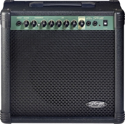 AMPLIFICADOR STAGG PARA GUITARRA ELECTRICA 40 WATTS-DISTORSION-REVERB