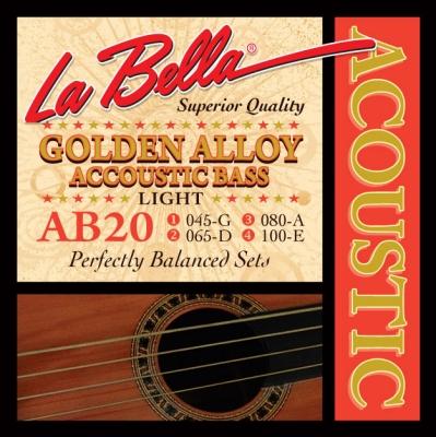 ENCORDADO LA BELLA PARA BAJO ACUSTICO 045/100