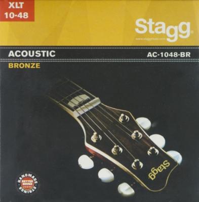 ENCORDADO STAGG DE GUITARRA ACUSTICA-BRONZE-010/048
