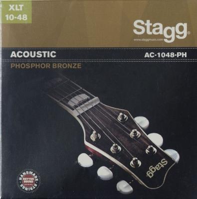 ENCORDADO STAGG DE GUITARRA ACUSTICA- PHOSPOR BRONZE-010/048