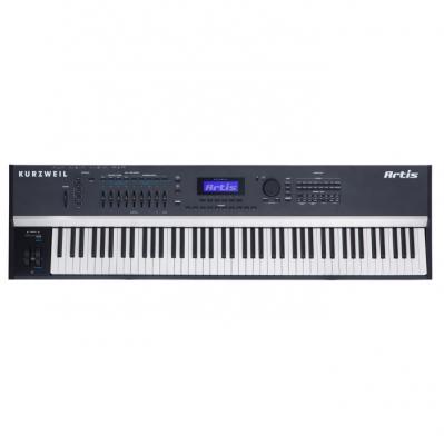 ARTIS STAGE PIANO KURZWEIL 88 NOTAS TECLADO FATAR-128 VOCES POLIFONIA-256 SONIDOS-MAS DE 1000 EFECTOS