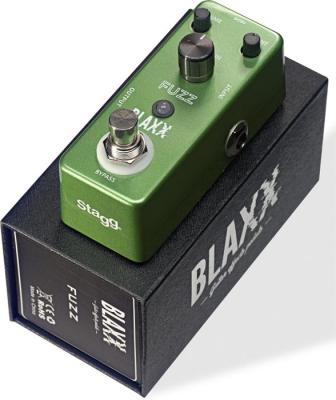 BLAXX MINI PEDAL FUZZ-CARCASA METALICA-TRUE BYPASS