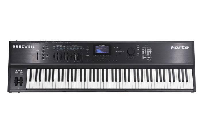 FORTE KURZWEIL 88 NOTAS STAGE PIANO+SINTETIZADOR-TECLADO ITALIANO-16GB DE SONIDOS-3.3GB DE MEMORIA DE USUARIO