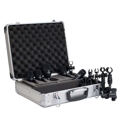 SET DE MICROFONOS AUDIX FUSION DE BATERIA-5 MICROFONOS CON ESTUCHE