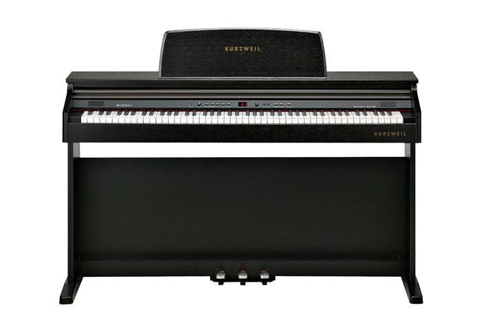 KA130SR PIANO DIGITAL KURZWEIL 88 NOTAS CON MUEBLE-16 SONIDOS-32 VOCES POLIFONIA-LED DISPLAY-USB/MIDI-BANQUETA INCLUIDA-COLOR MARRON