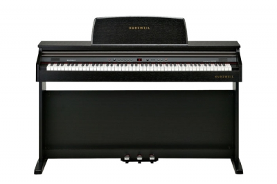 KA130SR PIANO DIGITAL KURZWEIL 88 NOTAS CON MUEBLE-16 SONIDOS-32 VOCES POLIFONIA-LED DISPLAY-USB/MIDI-BANQUETA INCLUIDA-COLOR MARRON