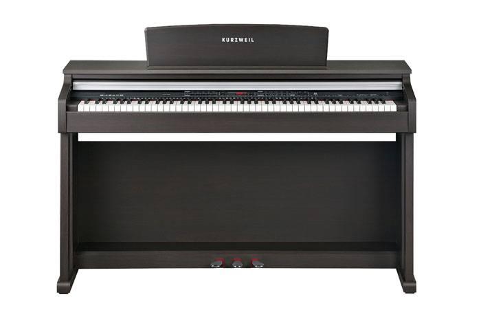 KA150SR PIANO DIGITAL KURZWEIL 88 NOTAS CON MUEBLE-128 SONIDOS-26 RITMOS-68 VOCES POLIFONIA-USB/MIDI-COLOR MARRON
