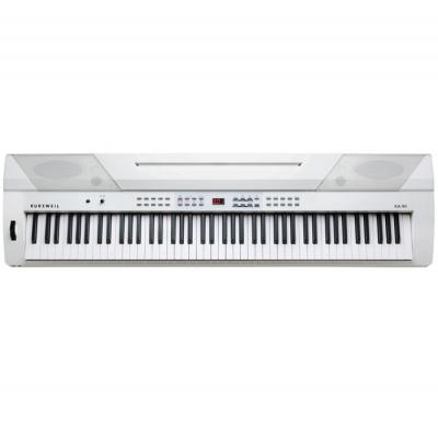 KA90WH PIANO DIGITAL KURZWEIL 88 NOTAS-20 SONIDOS-50 RITMOS-128 VOCES POLIFONIA-USB/MIDI-COLOR BLANCO