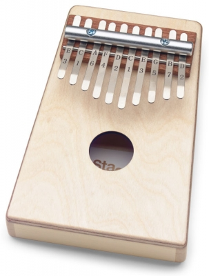 KALIMBA STAGG 10 NOTAS COLOR NATURAL