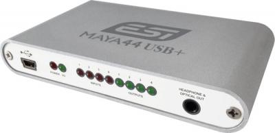 PLACA DE AUDIO ESI 4 INPUT/4 OUTPUT RCA INDEPENDIENTES-20bit-USB