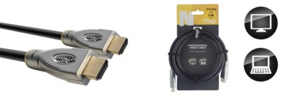 CABLE STAGG HDMI-HDMI 3mts