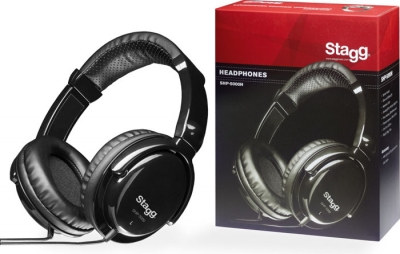 AURICULARES STAGG PRO DJ-MONITOREO STEREO