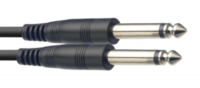 CABLE STAGG INTERPEDAL PLUG-PLUG 0.30mts