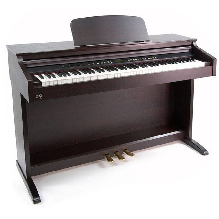 PIANO ELECTRICO RINGWAY-LCD BACKLIGHT-3 PEDALES-POLIFONIA 64-480 VOCES-204 RITMOS