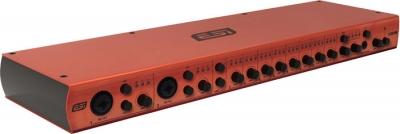 PLACA DE AUDIO ESI CON 10 ENTRADAS DE ALTA CALIDAD PARA MICROFONOS Y 8 SALIDAS -USB 2.0 24bit/96khz