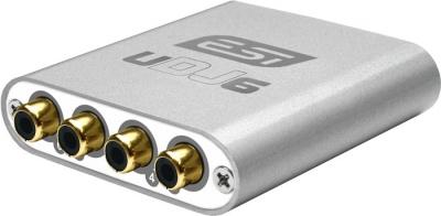 PLACA DE AUDIO ESI 6 OUTPUTS INDEPENDIENTES-4 RCA 2 1/4- USB -24bit/96khz