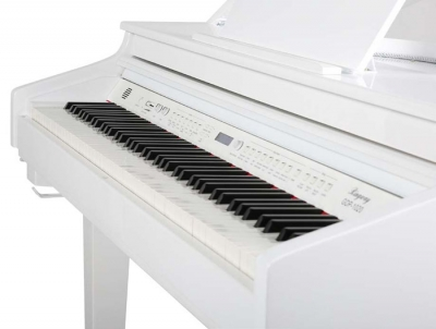 PIANO ELECTRICO RINGWAY MINI GRAND - INCLUYE BANQUETA - COLOR BLANCO