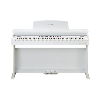 KA130WH PIANO DIGITAL KURZWEIL 88 NOTAS CON MUEBLE-16 SONIDOS-32 VOCES POLIFONIA-LED DISPLAY-USB/MIDI-BANQUETA INCLUIDA-COLOR BLANCO