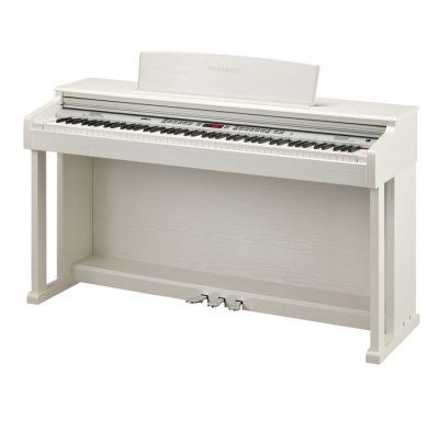 KA150WH PIANO DIGITAL KURZWEIL 88 NOTAS CON MUEBLE-128 SONIDOS-26 RITMOS-68 VOCES POLIFONIA-LED DISPLAY-USB/MIDI-COLOR BLANCO