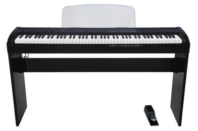 PIANO ELECTRICO RINGWAY POLIFONIA 64-8 VOCES-COLOR NEGRO